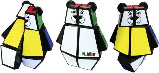 Rubiks Junior White Bear