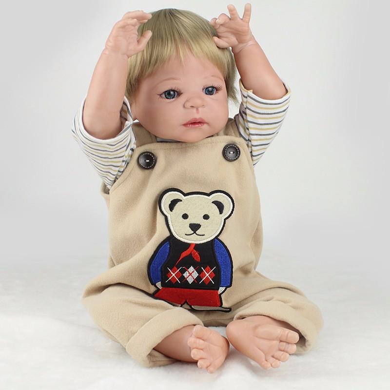 6eb72afc510 Bebê Reborn Menino Pedrinho 100% Silicone