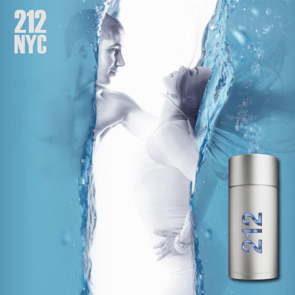 212 Men NYC Eau de Toilette 100ml + Shower Gel 100ml - Kit Perfume Masculino