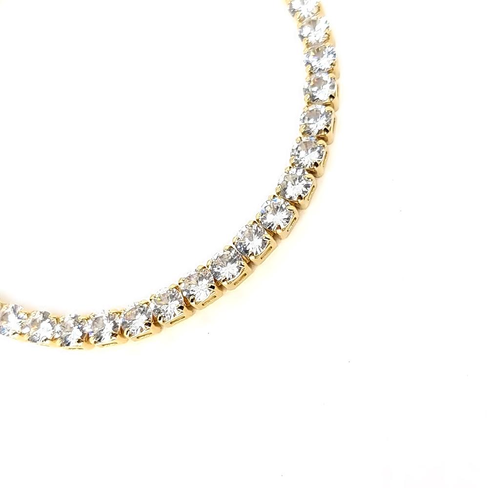 Pulseira Shine White Gold