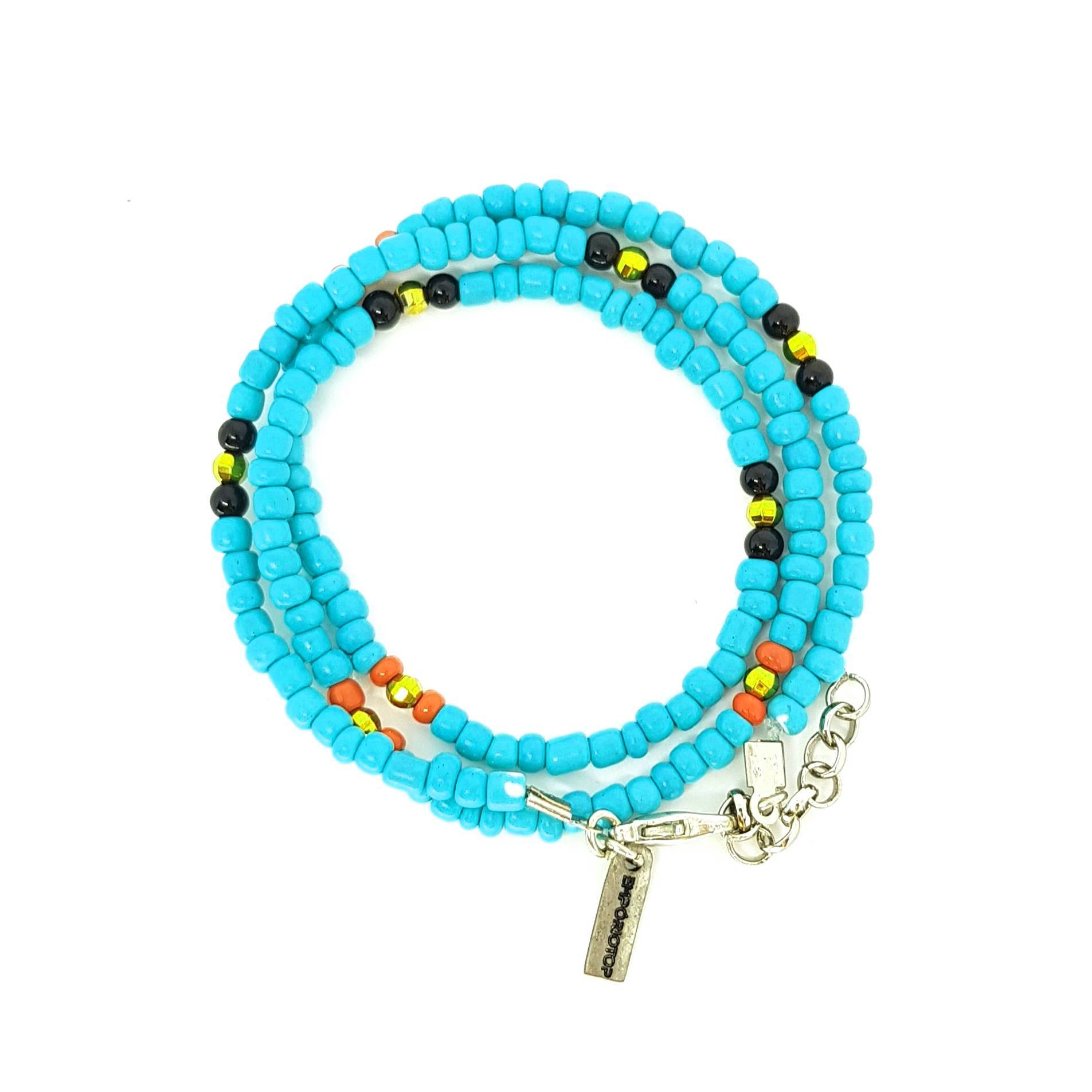 PULSEIRA TURQUOISE AND GOLD