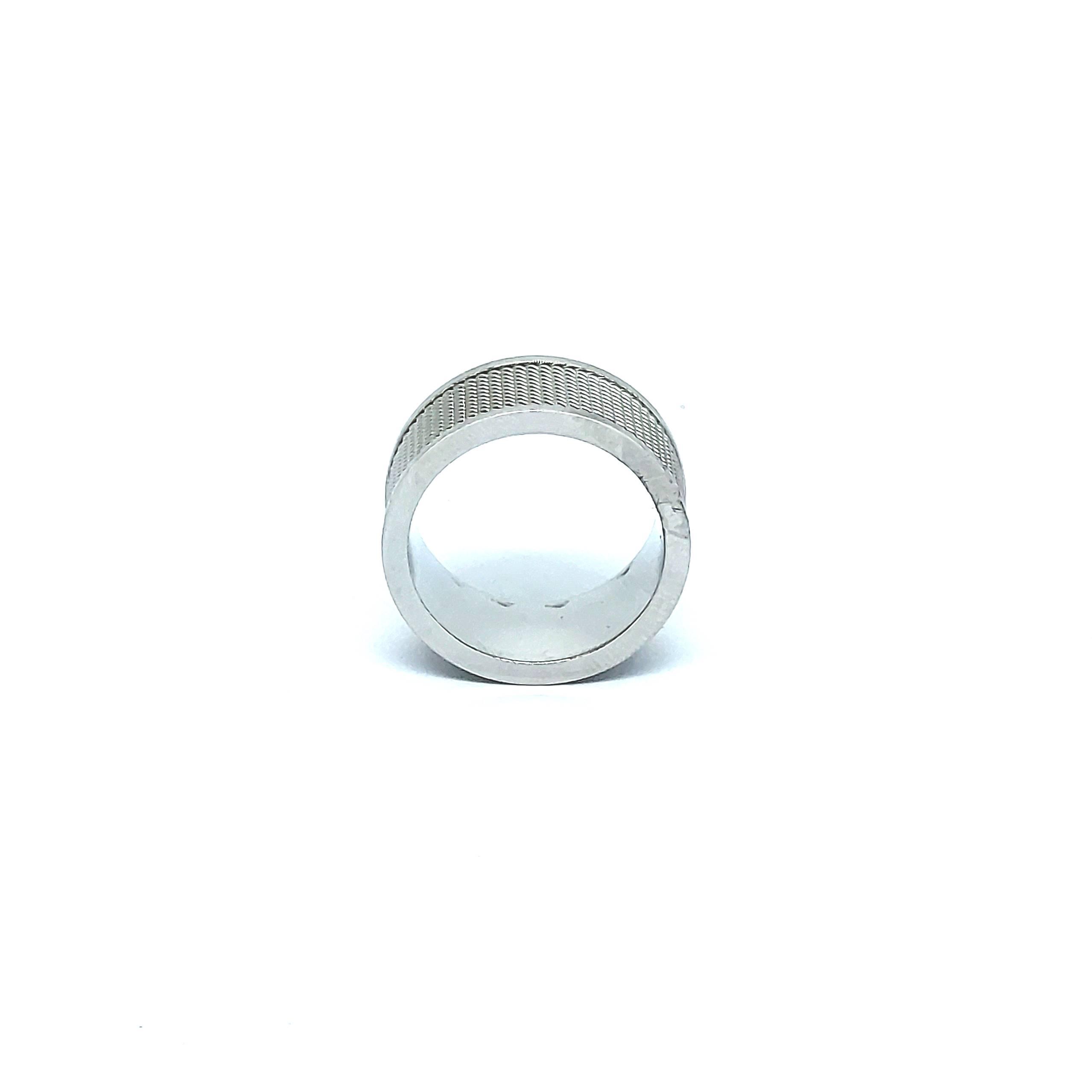 Anel Aço Inox New Silver