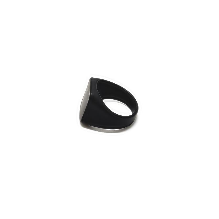 Anel Aço Inox Black Magnets