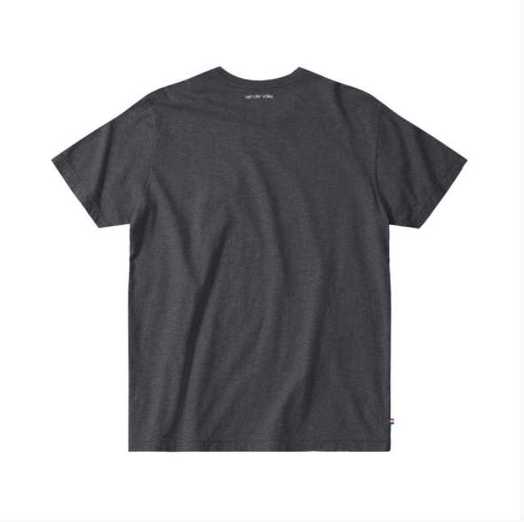 T-shirt Von Der Volke Basis - Preto Mescla