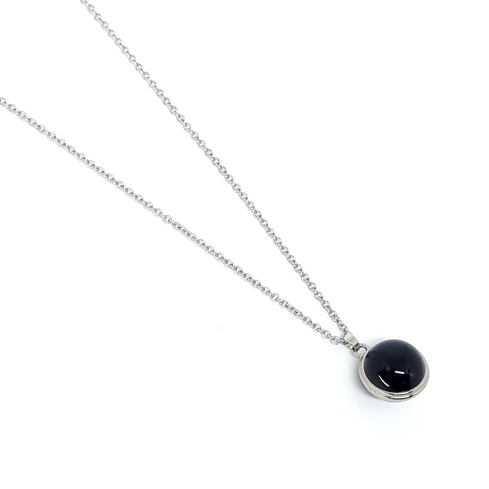 Corrente Aço Inox Ball Black