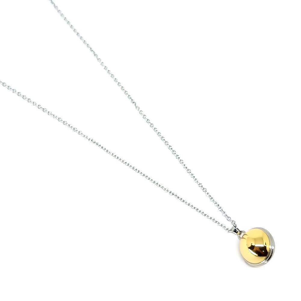 Corrente Aço Inox Ball Gold