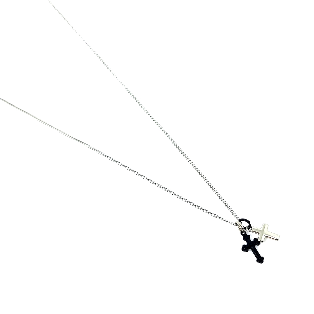 Corrente Aço Inox Double Cross