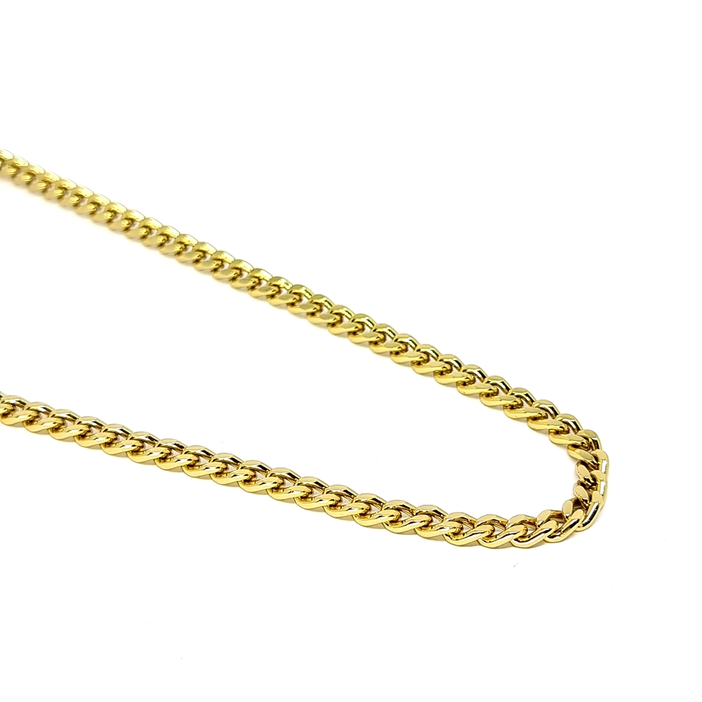 Corrente Aço Inox Elo Grumet Gold