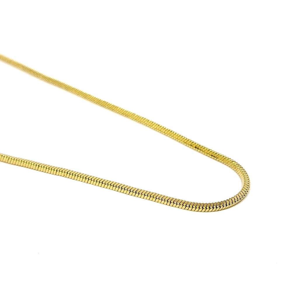 Corrente Aço Inox Quadratic Gold