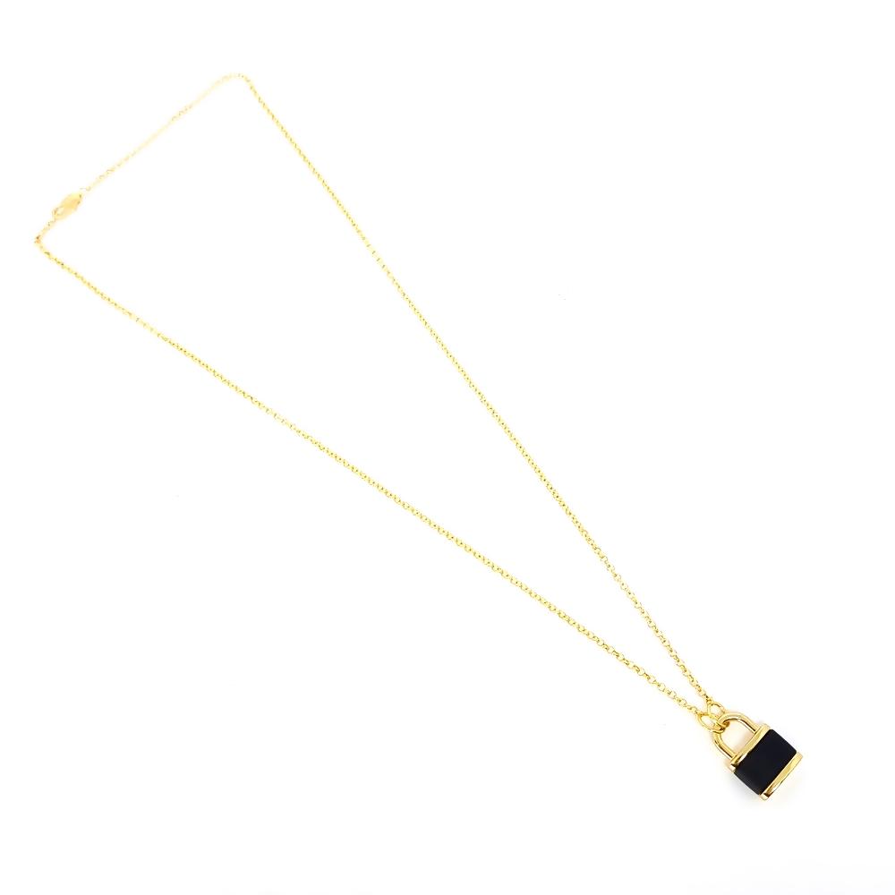 Corrente Aço Inox Lock Gold And Black
