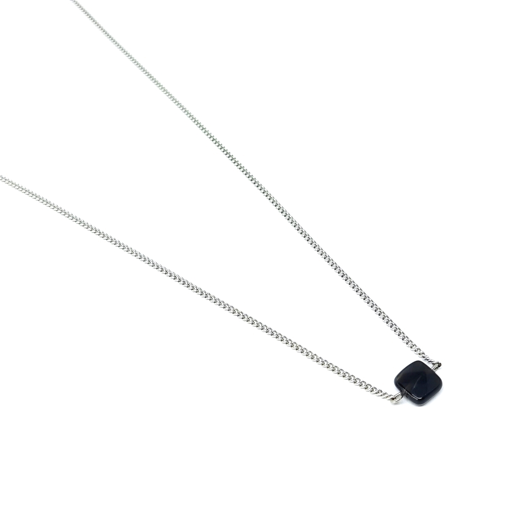 Corrente Aço Inox Stone Black