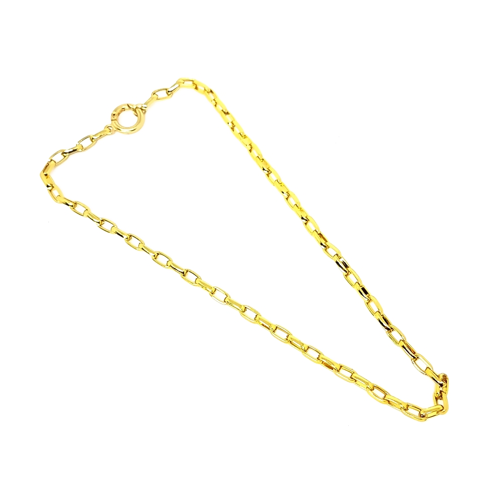 Corrente Aço Inox Eliptica - Gold