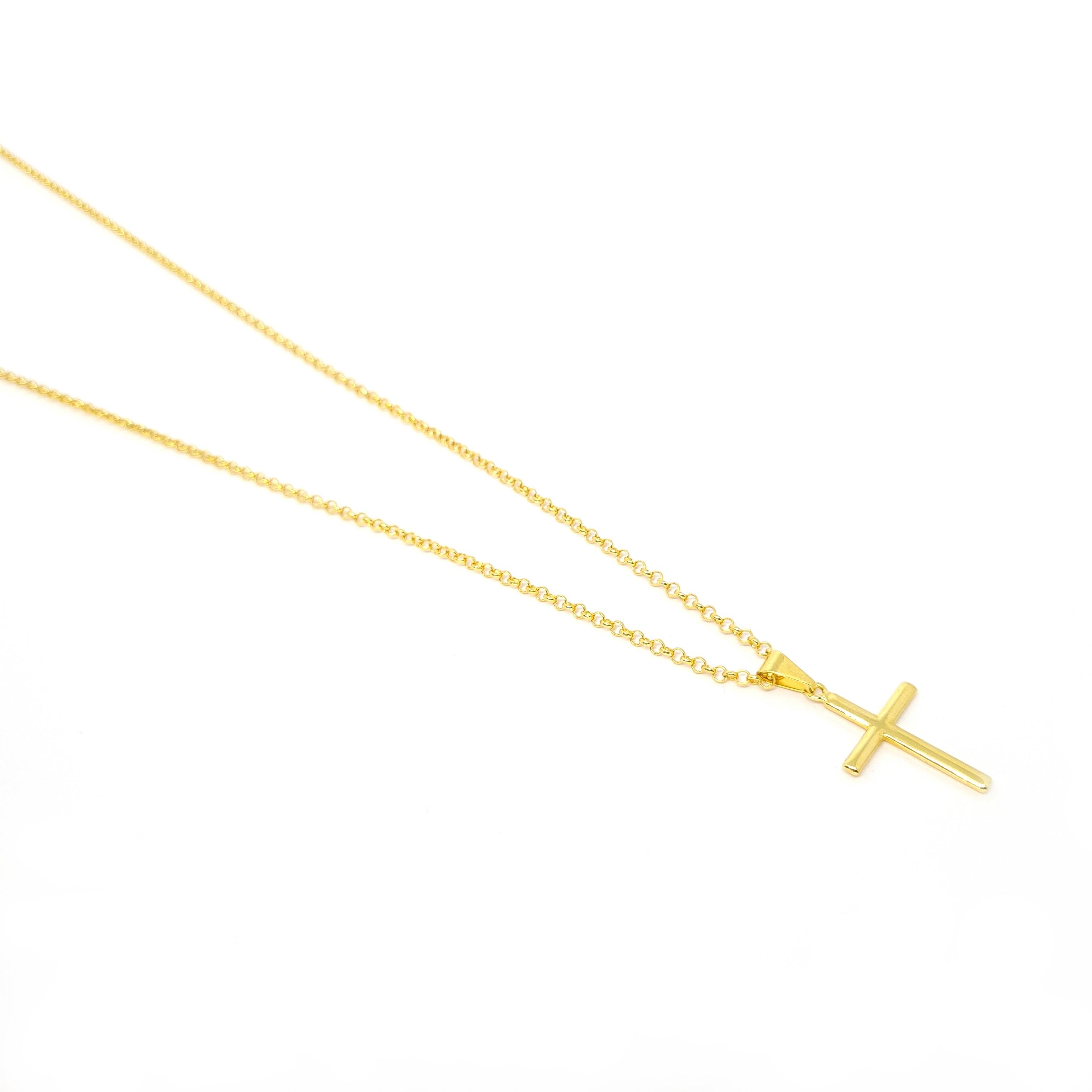 Corrente Precious Cruz Gold