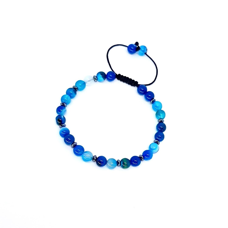 Pulseira Pedra Natural Especial Azul