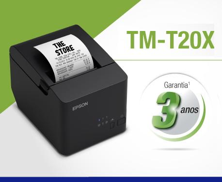 Epson Tm-t20x 3 anos garantia