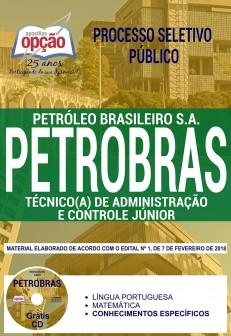 Processo Seletivo Público TRANSPETRO 2018 - TÉCNICO (A) DE ADMINISTRAÇÃO E CONTROLE JÚNIOR