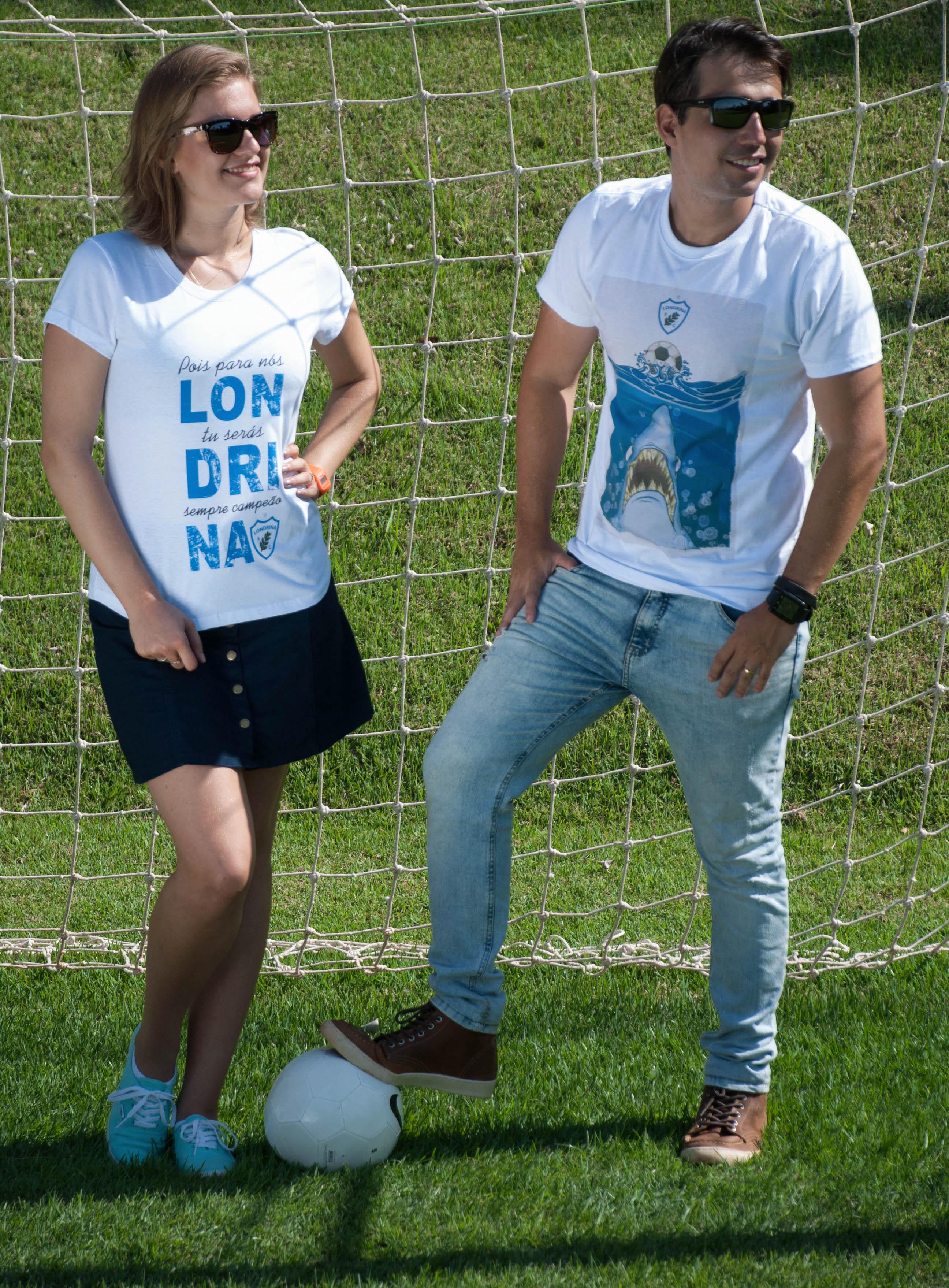 4befa3812d Beca de Boleiro lança linha de camisetas licenciadas do Londrina EC
