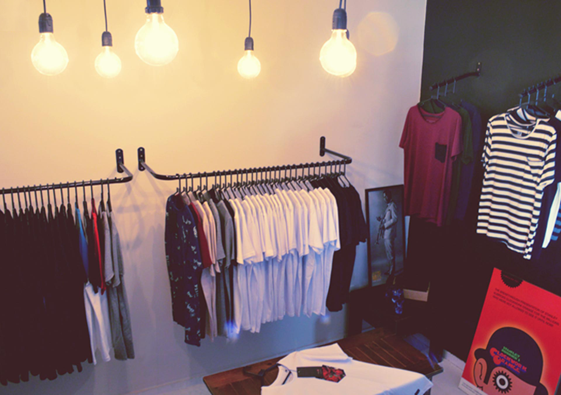 Foto do Showroom da STM Camisetas