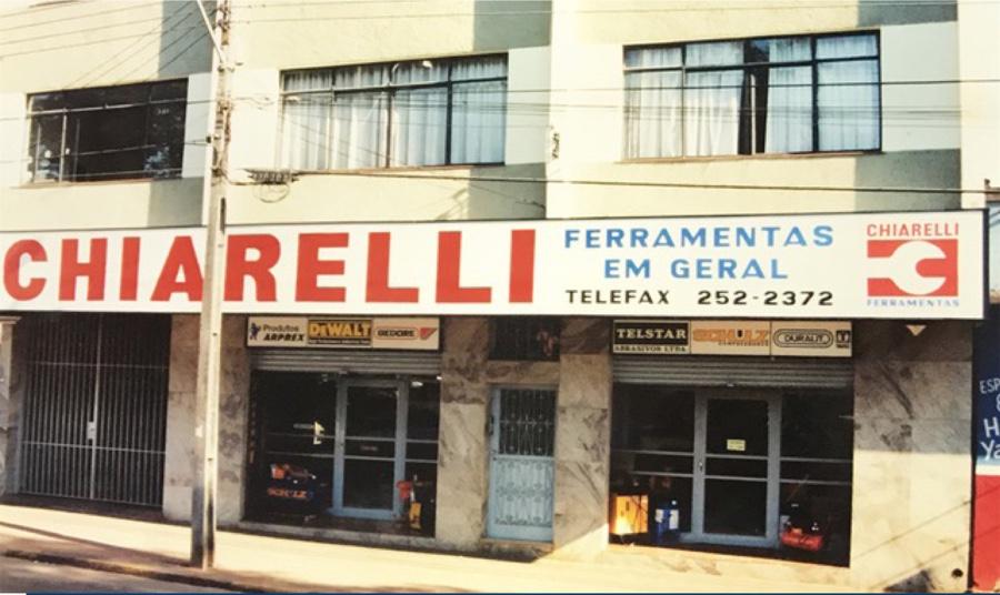 Onde tudo começou em 1988 - Loja com área total de 120m²