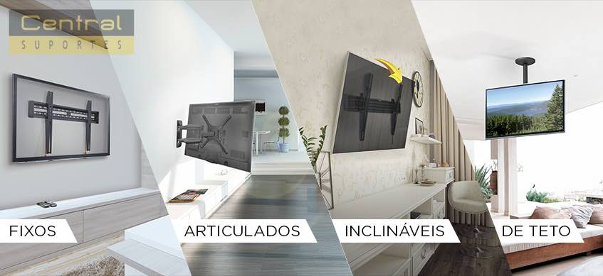 Imagem como escolher um suporte de tv adequado