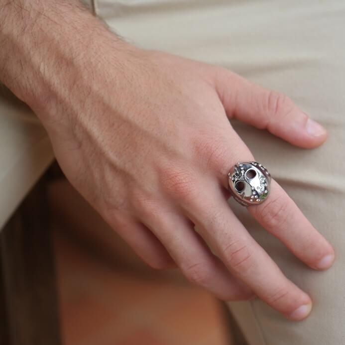 Anel masculino, anel masculino Jason