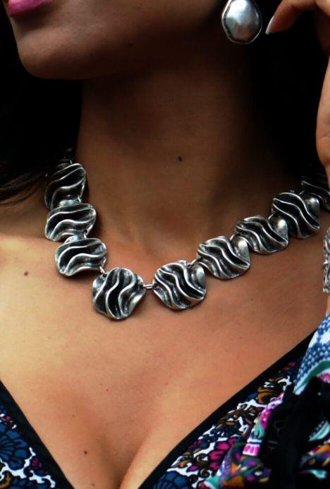 Colar-prata-Waves,colar-prata,colar-de-prata