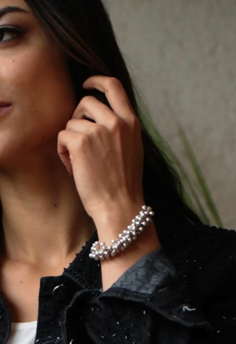 Pulseira-prata-Perolas,pulseira-prata