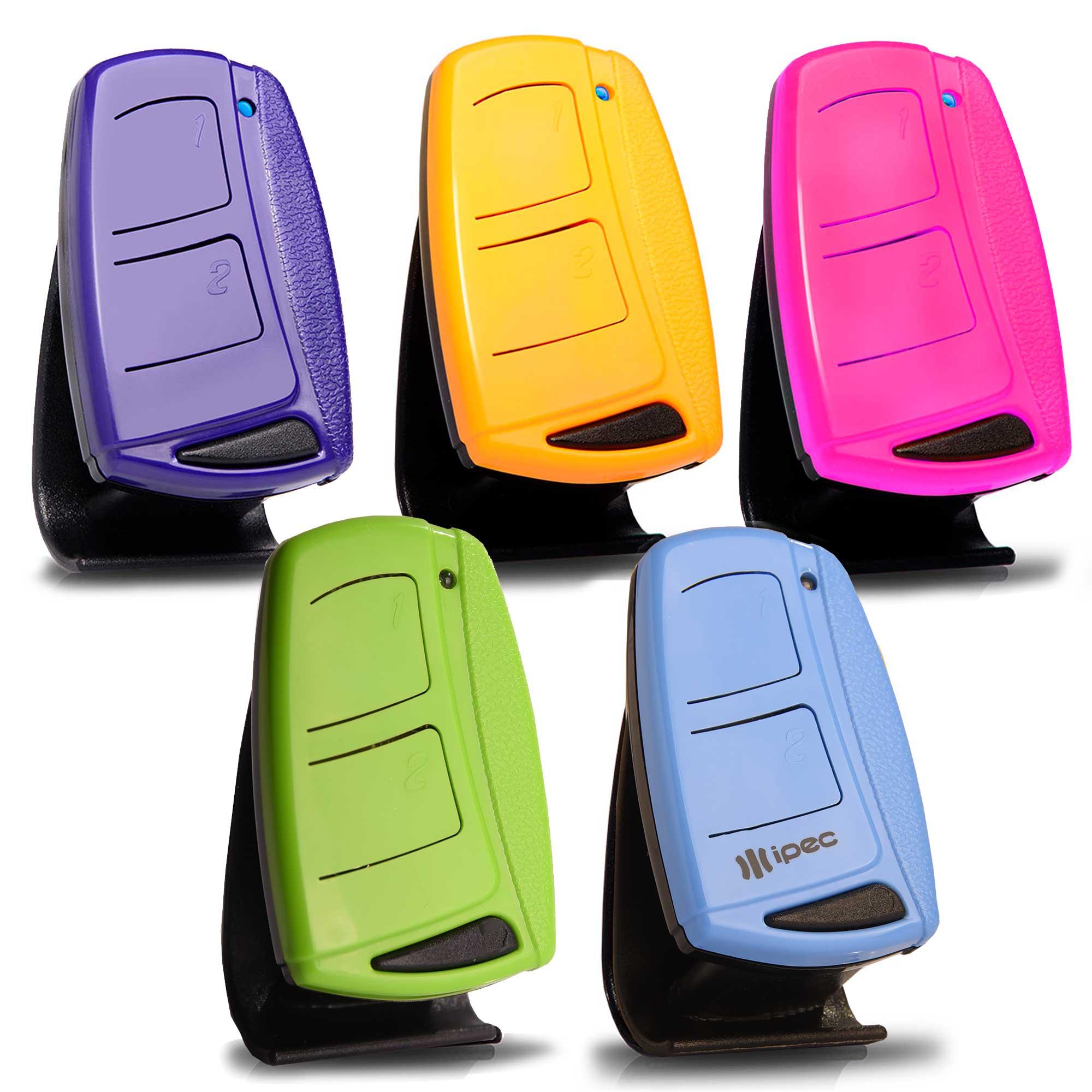 Controle Remoto Para Portões e Alarmes Top Mais Color Com Alça Ipec