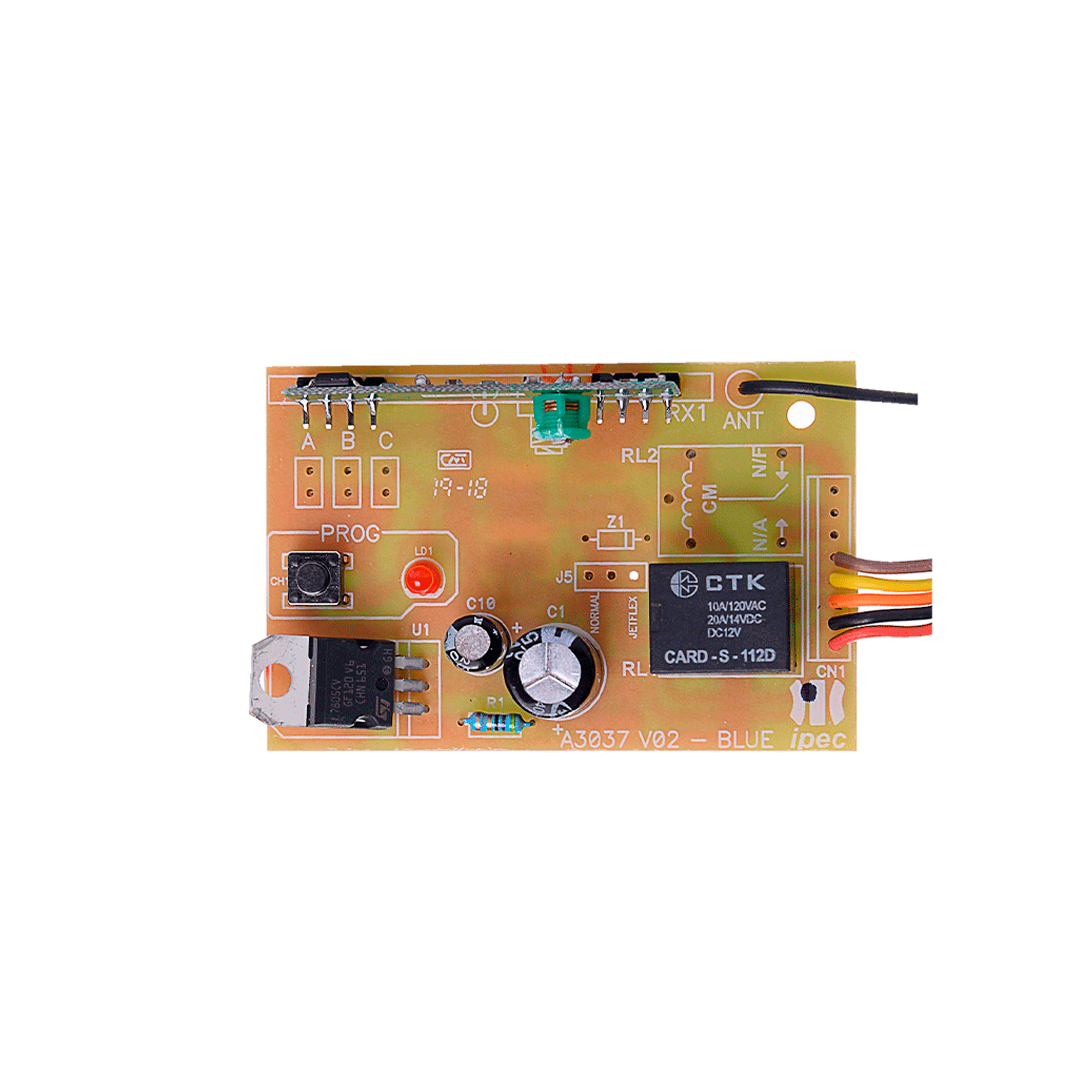 Receptor De Controles Remotos Custom 1 Canal (Mono) Ipec