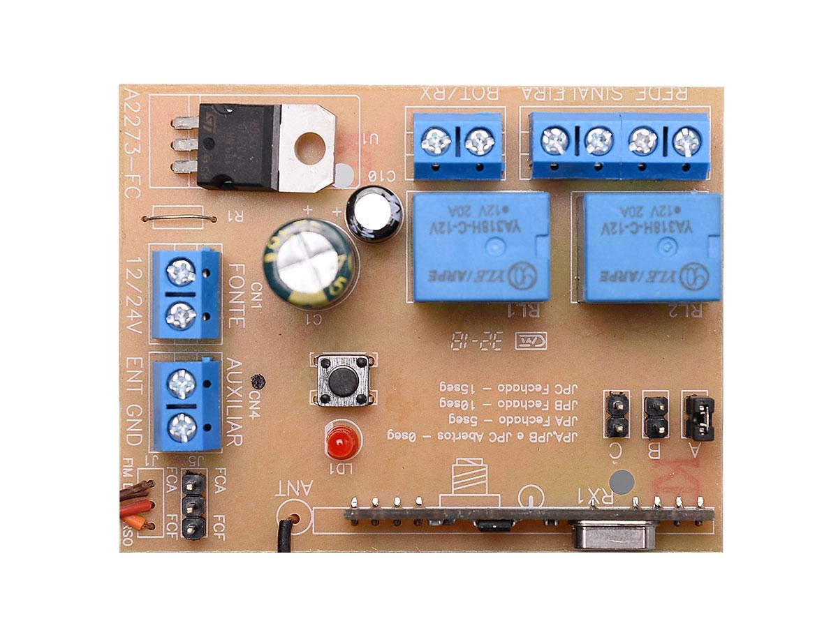 Receptor para Sinaleira com Temporizador e Aviso Sonoro Lei 16809