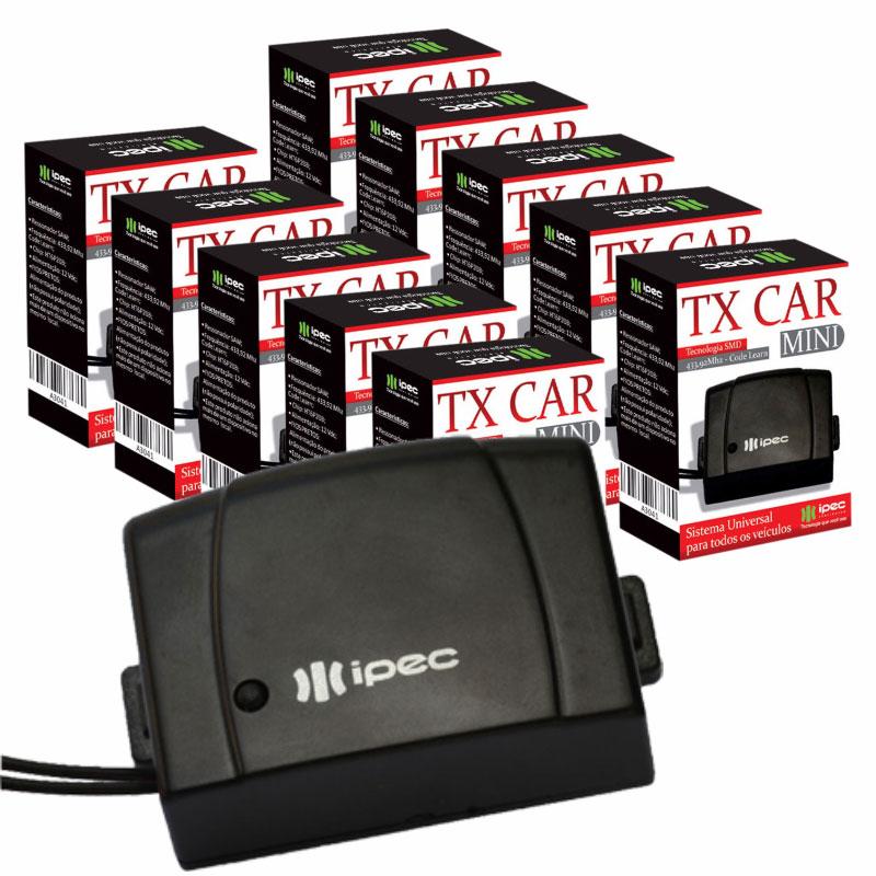 Controle Para Farol De Carro Tx Car Mini Ipec (Kit Com 10un)