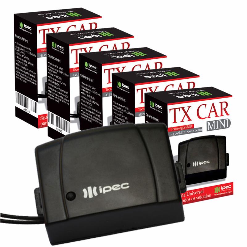 Controle Para Farol De Carro Tx Car Mini Ipec (Kit Com 5un)