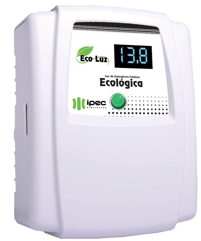 Central Luz De Emergência Coletiva Eco Luz 60 Ipec