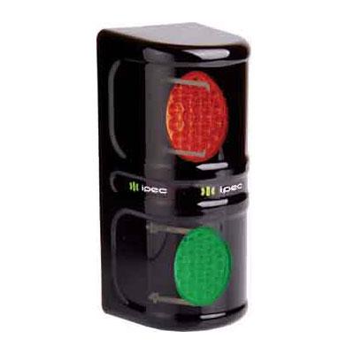 Semáforo De Liberação Vermelho Verde Leds Bivolt Ipec