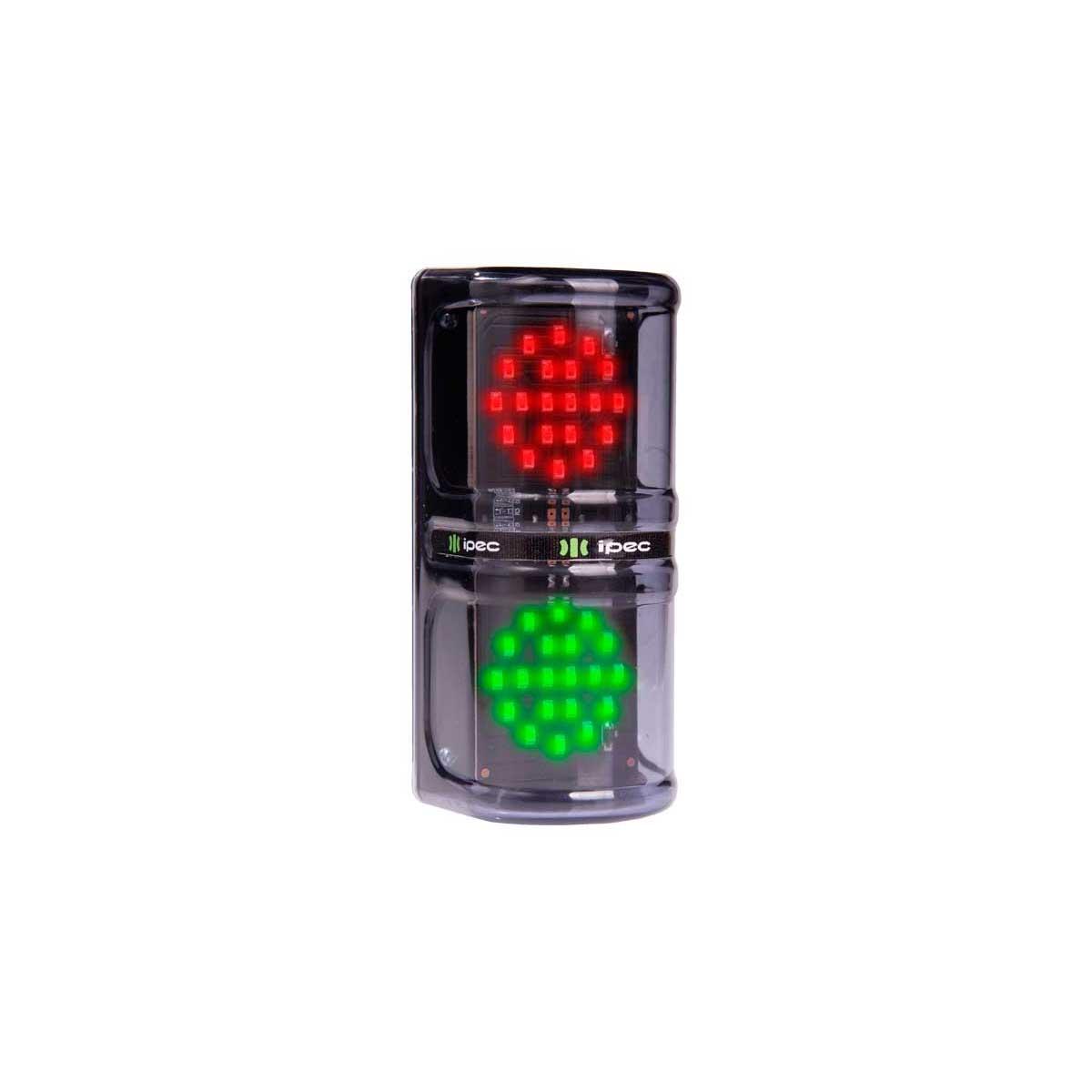 Semáforo De Liberação Vermelho Verde Leds 12V Ipec