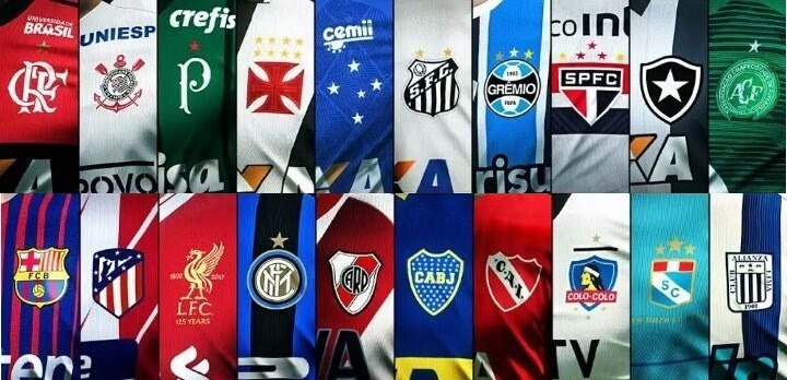 df57506ace36f Camisa das equipes de Futebol do Brasil e do mundo.