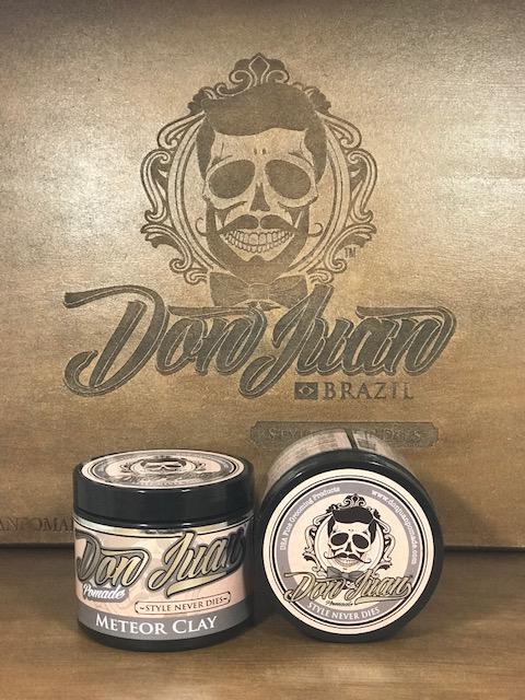 Pomada para Cabelo Masculino - Meteor Clay - Don Juan