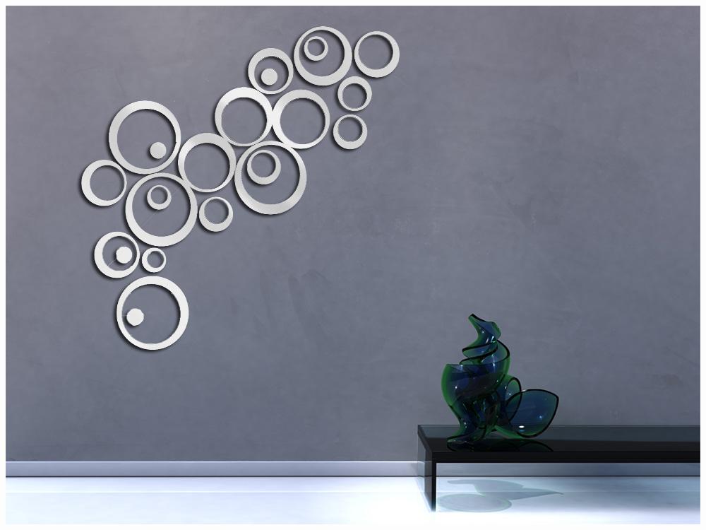 paredes decoradas com espelhos