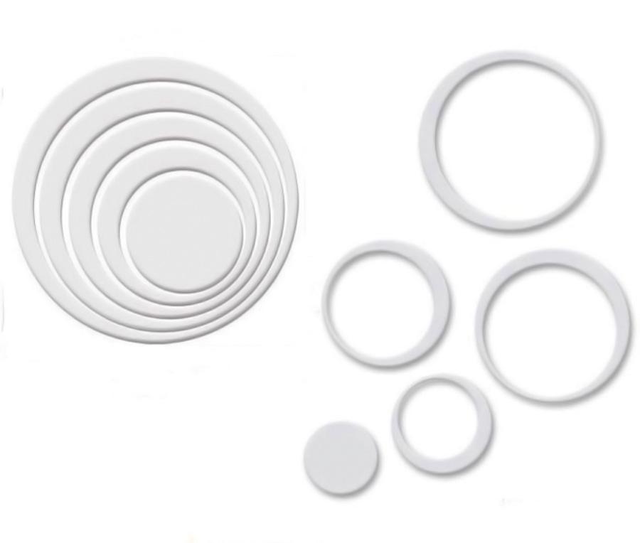 Circulos brancos