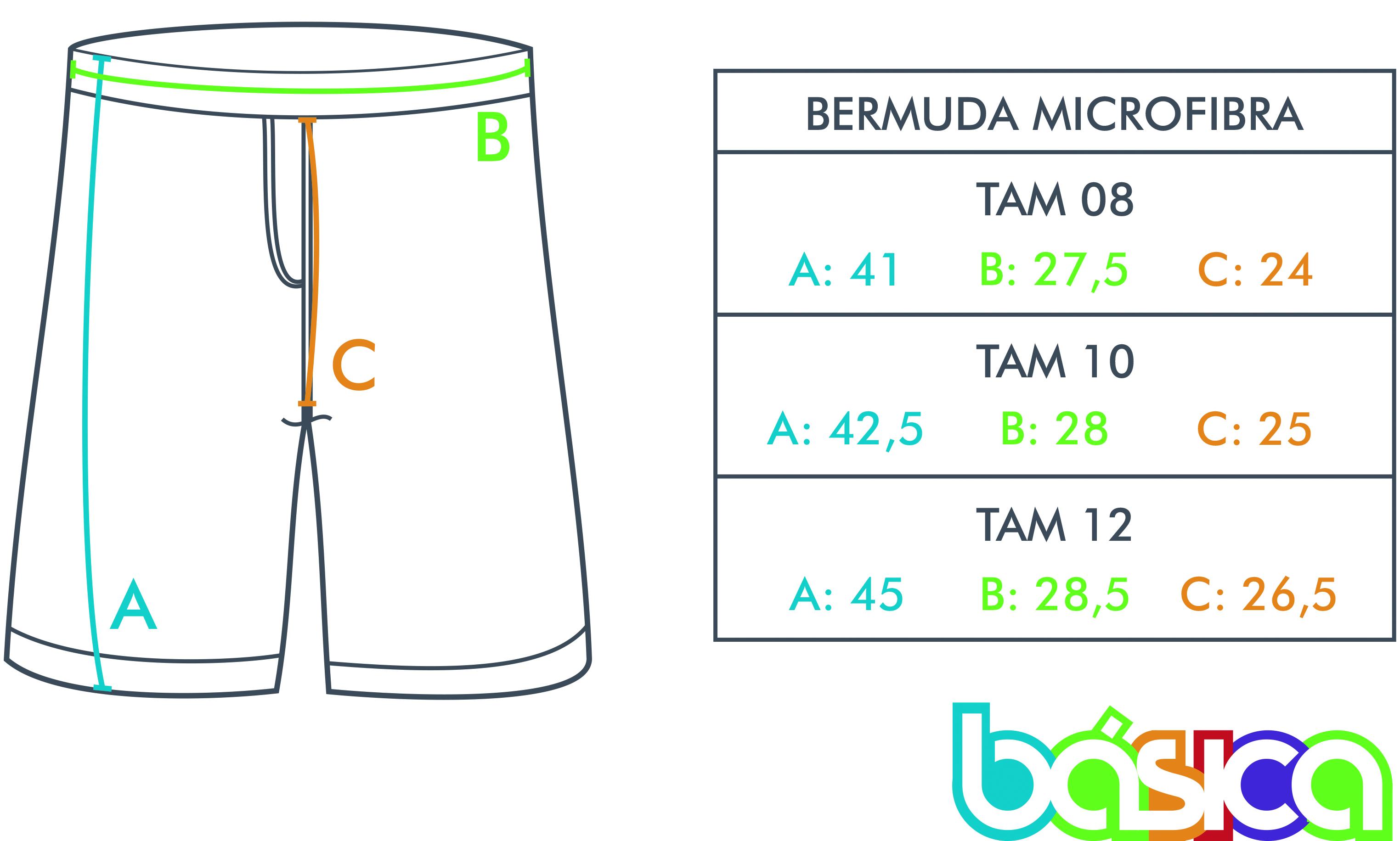 b449f8e79f Bermuda de Microfibra Uniforme Maple Bear Fundamental - BÁSICA UNIFORMES