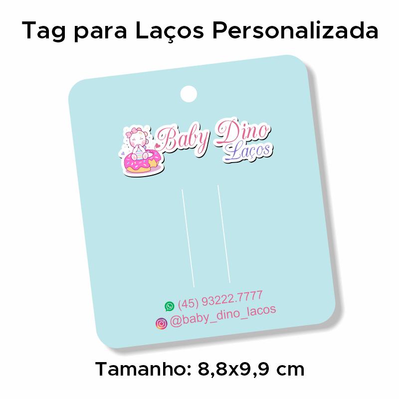 Tag para Laços Personalizada