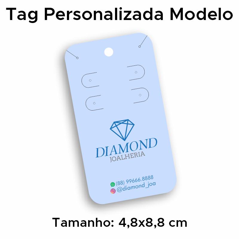 Tag Personalizada Duplo Brinco