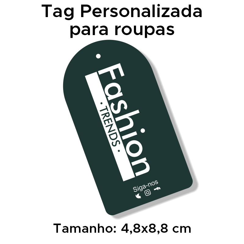 Tag Personalizada para roupas
