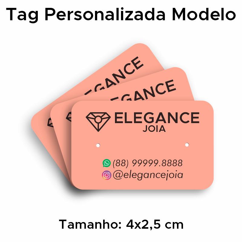 Tags para Brincos Personalizados Simples