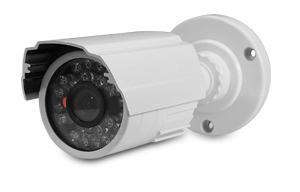 Câmera de segurança infravermelho 1200 linhas bullet