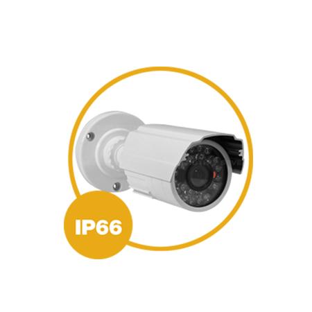 IP66: Câmera 1200 Linhas Bullet