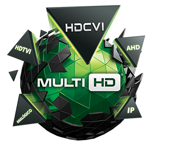 Intelbras Multi HD do DVR MHDX 1008