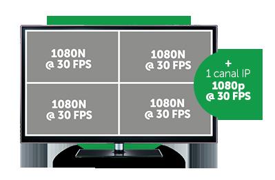 DVR Intelbras MHDX 1004 com Função BNC + IP