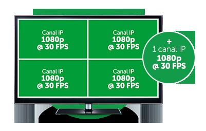 DVR Intelbras MHDX 1008 com Modo NVR