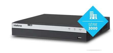 DVR MHDX 3116 16 canais Multi HD Intelbras
